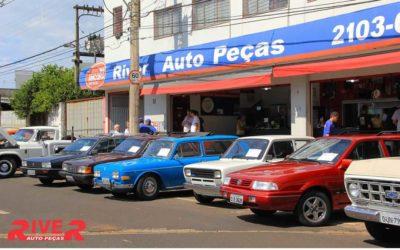 6º Pit Stop River – Encontro de carros antigos e exóticos