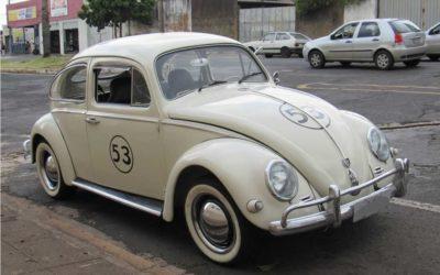 Reliquias Automotivas | Fusca Herbie 68 modelo 53 de Pedro Rocha