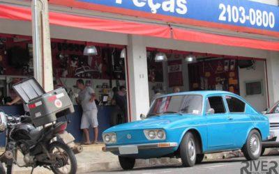 Relíquias Automotivas | Variant TL 74 de Itelvino