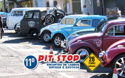 11º Pit Stop River – Encontro de carros antigos e exóticos